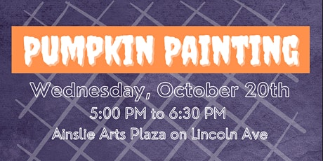 Lincoln Square Pumpkin Painting tickets