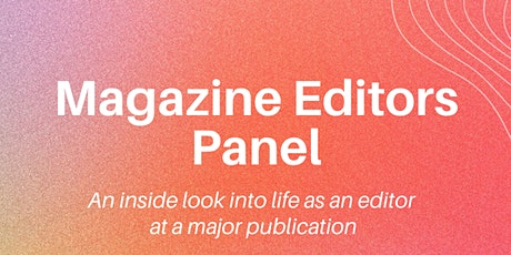 Magazine Editor Virtual Panel tickets