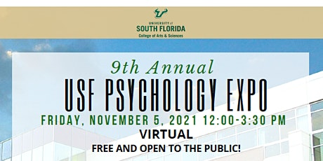 9th Annual USF PSYCHOLOGY EXPO tickets