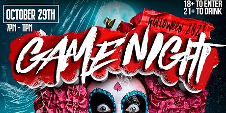 HALLOWEEN COSTUME PARTY/GAME NIGHT tickets