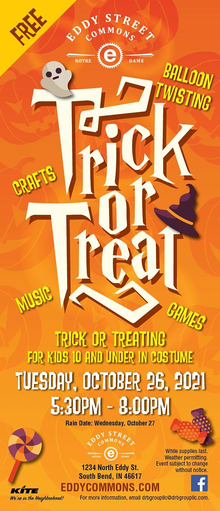 Trick or Treat Event at the Eddy Street Commons image