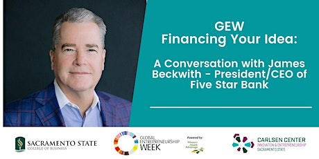 GEW: Financing Your Idea: A Conversation with James Beckwith tickets