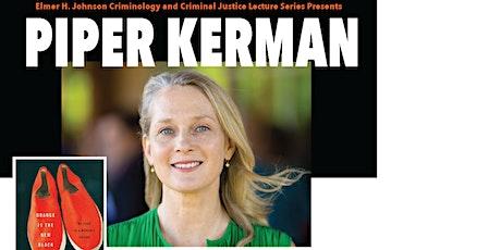 Piper Kerman at SIUC tickets