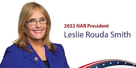 Texas Reception Honoring Leslie Rouda Smith, 2022 NAR President tickets