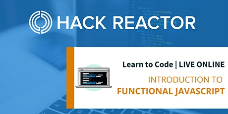 Introduction to Functional JavaScript [Live-Online] tickets
