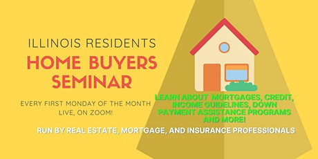 Illinois Residents First-Time Homebuyer Q&A tickets