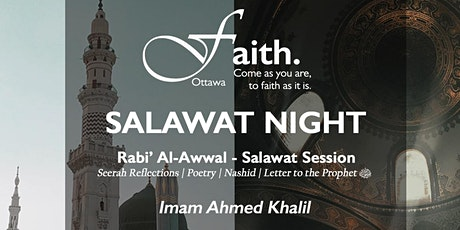 Faith: Salawat Night tickets