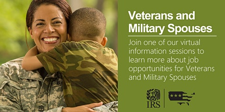 IRS Virtual Event – Career Opportunities for Veterans and Military Spouses tickets