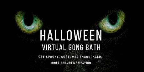 Halloween Gong Sound Bath  ~ FREE Virtual Event tickets