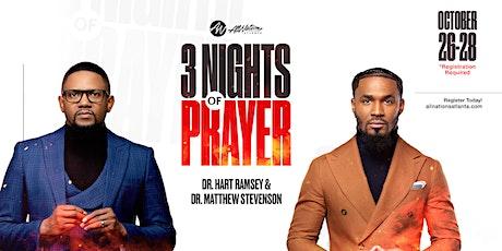 Night ONE of THREE Day Prayer Revival tickets