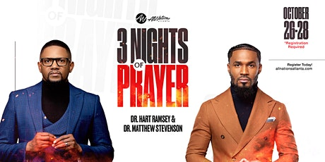 Night TWO of THREE Day Prayer Revival tickets