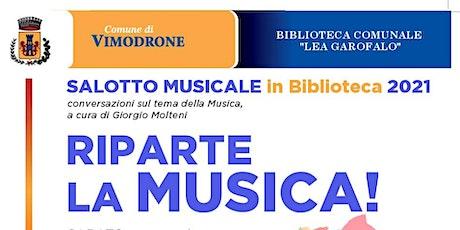 Salotti Musicali in Biblioteca biglietti