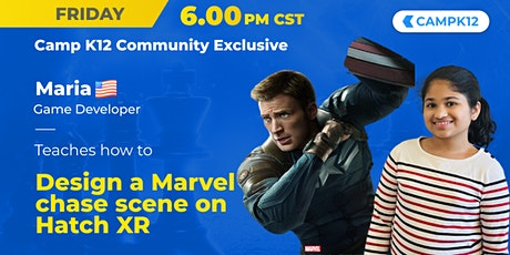 Marvel Game Design - CampK12 Community Exclusive tickets