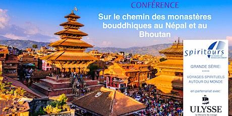 """Webinaire """"Népal & Bhoutan: sur le chemin des monastères bouddhiques"""" billets"""