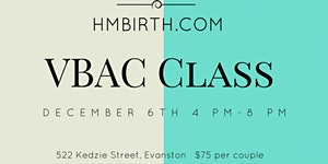 VBAC 4 Hour Class: Evidence, Healing and Birth Tools...