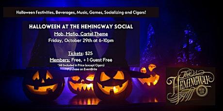 Halloween at The Hemingway Social  // Friday, October 29th tickets