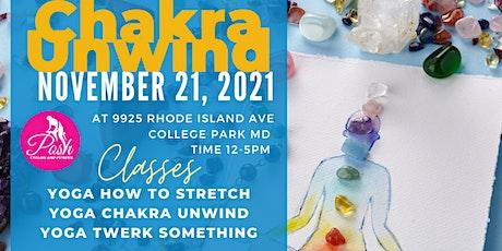 Chakra Unwind Social Yogi Experience tickets