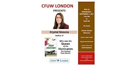 CFUW London Meeting tickets