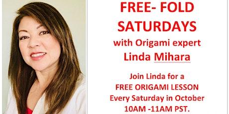 Free Fold Origami Saturday - Triangular Box! tickets