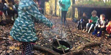 Tinder Sticks Forest School, Fineshade Wood, Fridays tickets