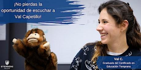 México: Certificado en Educación Temprana - Sesión informativa: Nov 11 boletos