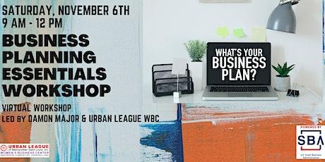 Business Planning Essentials Workshop tickets
