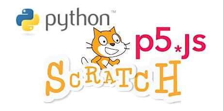 CoderDojo Nijmegen #82: Kunst, met Scratch, Python en p5.js tickets