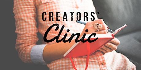 Creators Clinic tickets