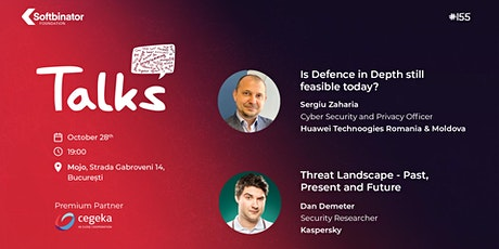 #Talks155 - Threat Landscape & Defence in Depth tickets