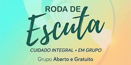 Roda de Escuta - Cuidado Integral  - 20/10/2021 (Matinal) ingressos