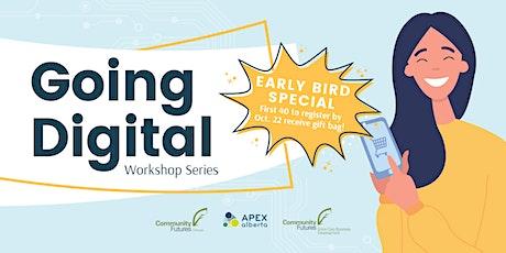 Going Digital Workshop Series tickets