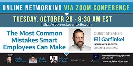 RBBN October Online Networking Event with Eli Garfinkel tickets