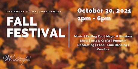 Fall Festival Vendor Registration tickets