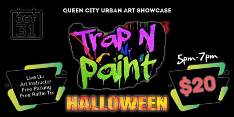 Trap & Paint (Halloween Edition) tickets