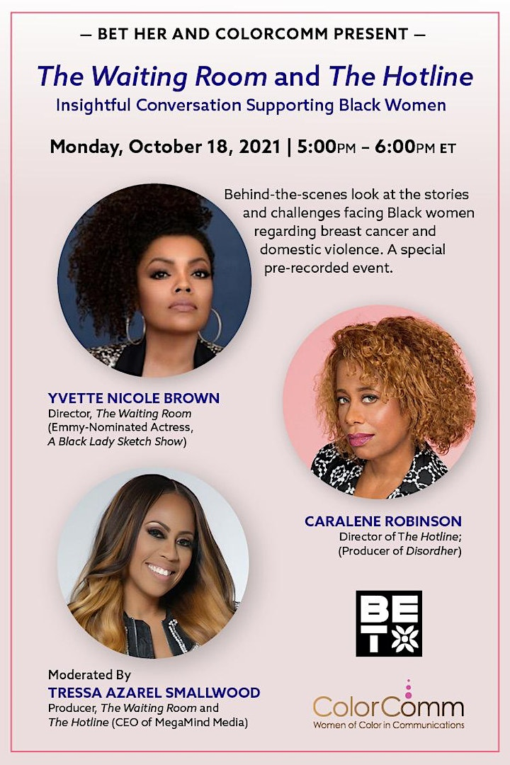 BET Her x ColorComm Present: The Waiting Room and The Hotline image