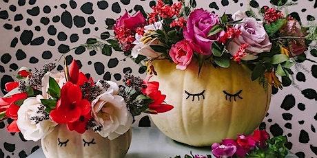 Pumpkin Floristry Workshop Barrow upon Soar Leicestershire tickets