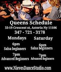 Beginner Salsa class in Queens tickets