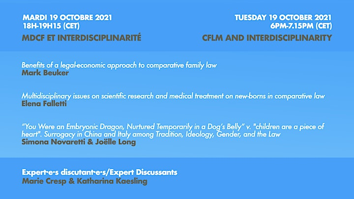 Online Week on Comparative Family Law Methodology image