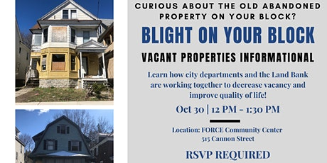 Blight on Your Block Series tickets