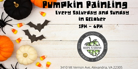 Pumpkin Painting at Hops N Shine tickets