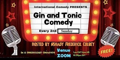 Gin and Tonic Comedy #5 biglietti