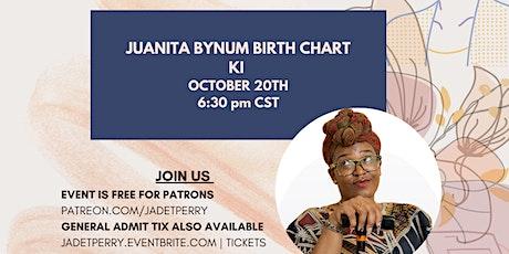 Juanita Bynum Birth Chart| Wednesday Night Study tickets
