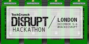Hackathon at TechCrunch Disrupt London 2015