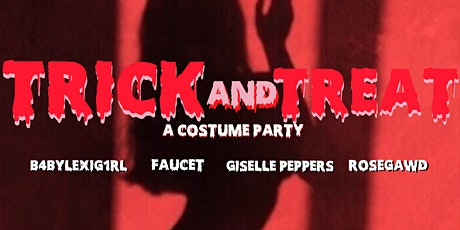 Trick and Treat tickets