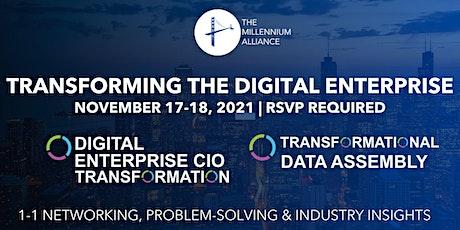 Digital Enterprise CIO & Data Transformation tickets