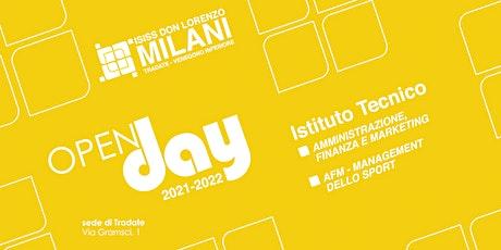 Open Day 2021/22 - Amministrazione, Finanza & Marketing biglietti