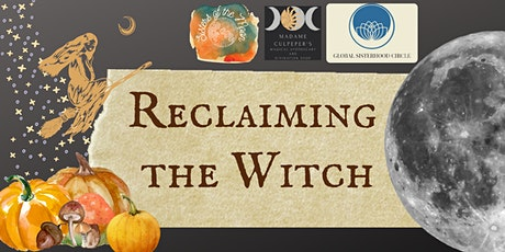 Samhain Special: Reclaiming the Witch 3 Part Course tickets