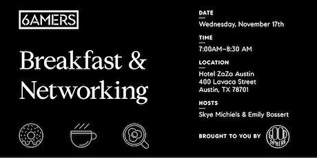 6AMERS Breakfast & Networking tickets