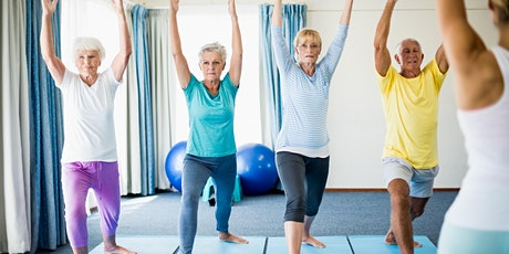 WELLBEING YOGA 6 WEEK COURSE  FOR THE OVER 55'S- £18  (£3.00 PER WEEK ) billets