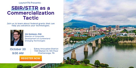SBIR/STTR as a Commercialization Tactic tickets